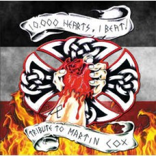 10,000 Hearts - One Beat: Tribute To Martin Cox - CD (All proceeds go directly to Marty)